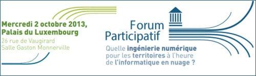 Forum Participatif - Mercredi 2 octobre 2013